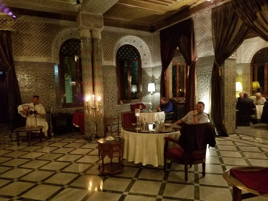 Marrakesh by night - The Red House Restaurant
