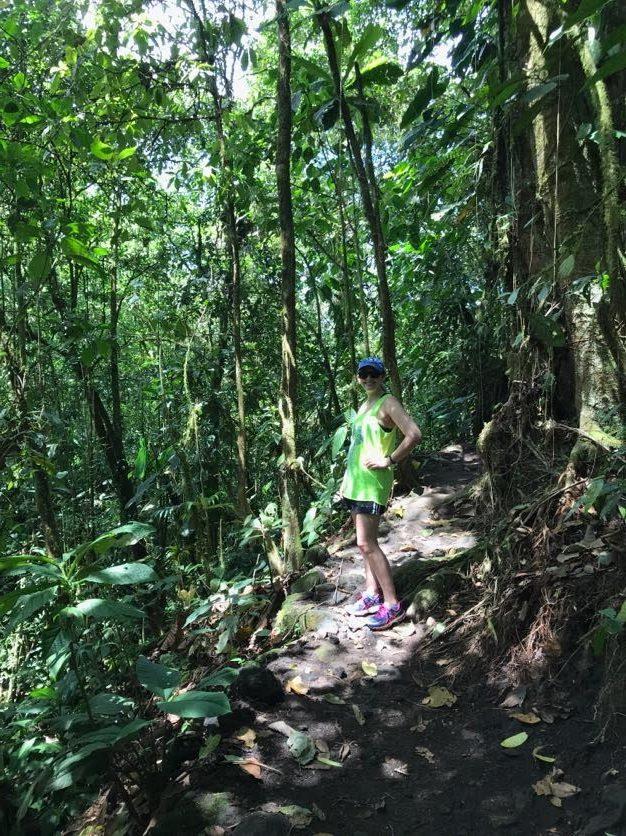 Hiking around the Arenal volcano