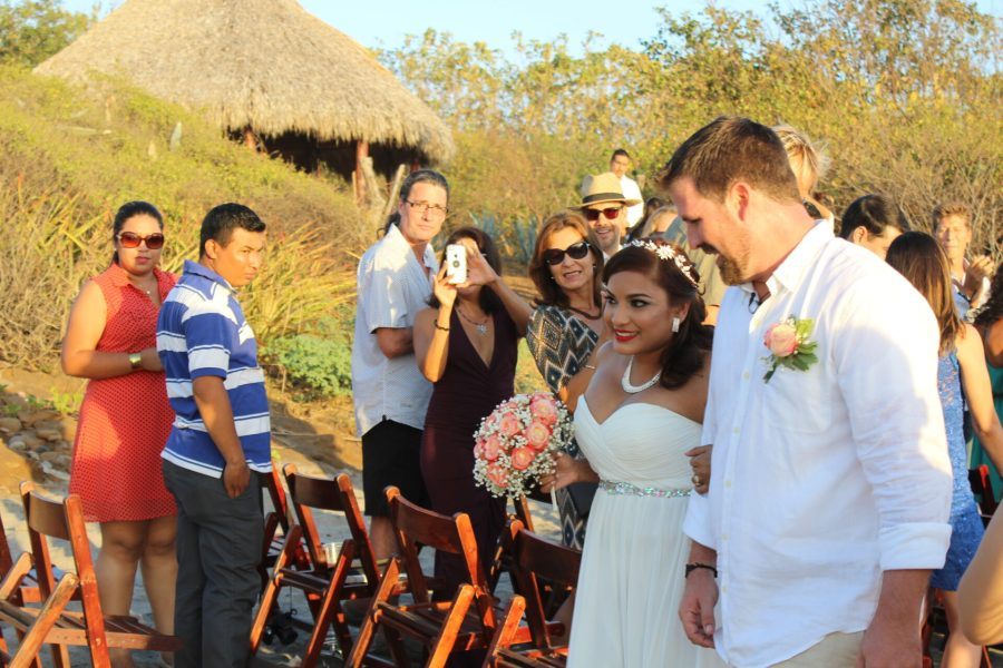 Nica wedding - bride and groom