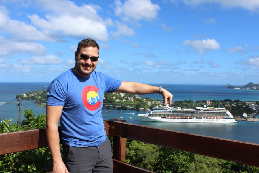 St. Lucia and Celebrity Silhouette