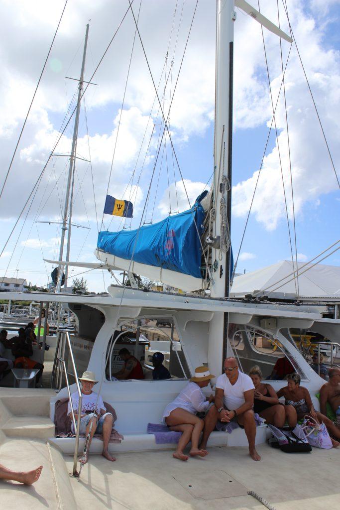 Catamaran in Barbados