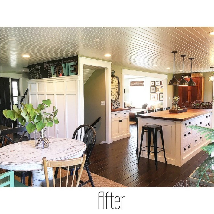 Colonial house remodel