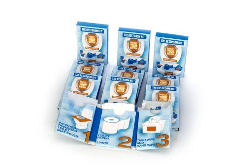 The Restroom Kit - essential sanitary item - bathroom essentials kit - travel toiletries