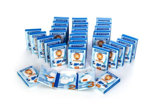 The Restroom Kit - bathroom essentials - essential sanitary item - travel pack toiletries