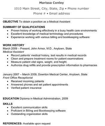 front office medical assistant resume samples template