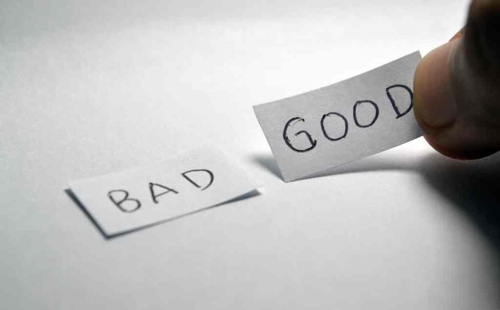 bad good choice