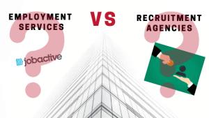 Employment services vs recruitment agencies