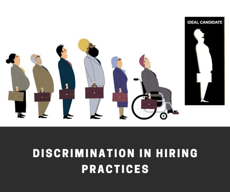 Discrimination in hiring practice