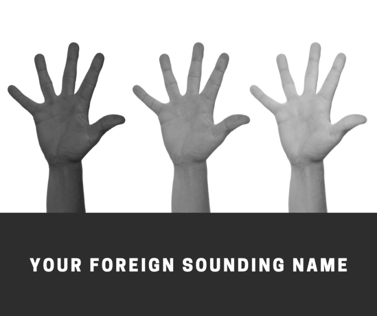 Your Foreign Sounding Name