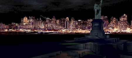 As if having the statue of liberty bombed wasnt enough, Deus Ex spookily prophesised 9/11 as the Twin Towers couldn't fit into the game files.