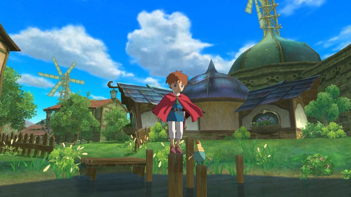 Ni No Kuni exterior screenshot