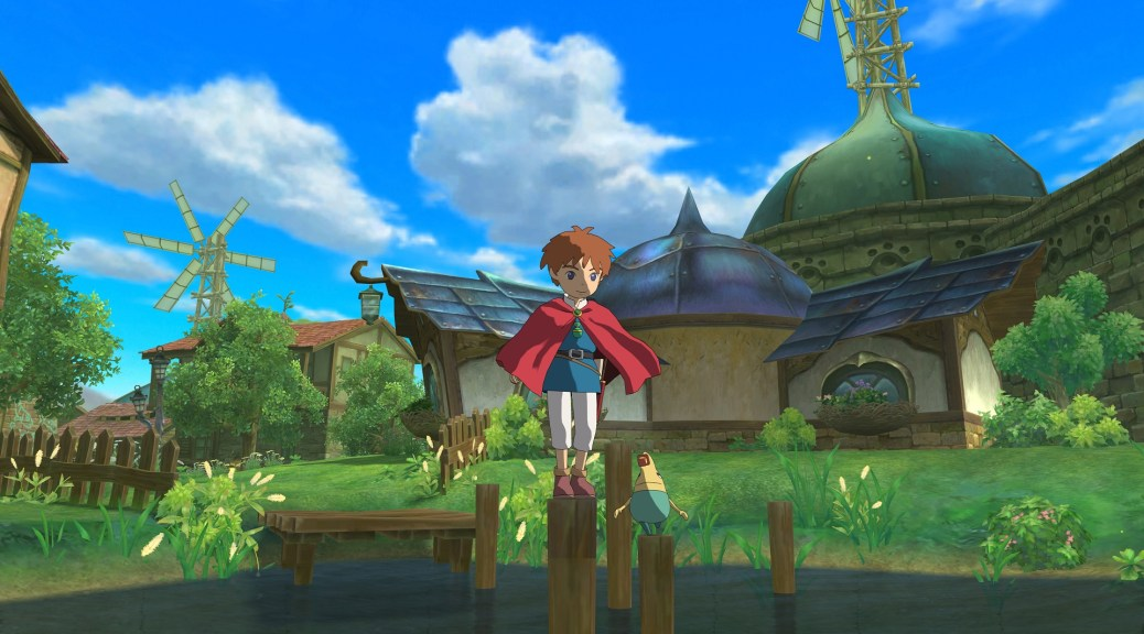 Ni No Kuni exterior screenshot
