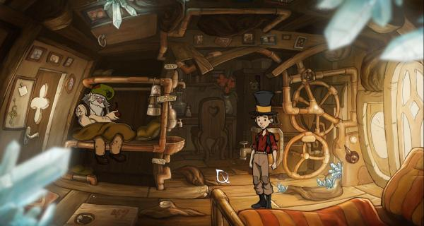 The Night of the Rabbit Screenshot Daedalic Entertainment PC Steam Adventure Point and Click