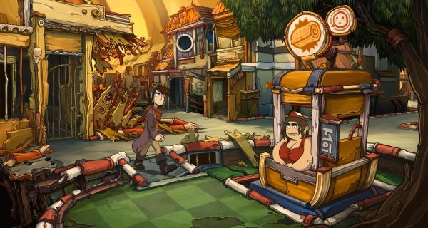Goodbye Deponia Screenshot Rufus Daedalic Entertainment Steam PC