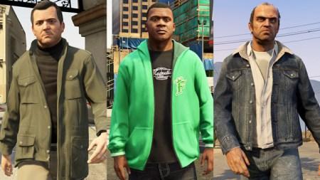 The GTA V crew