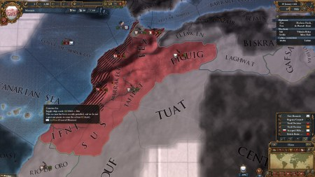 My lands were being diced up by my rivals.