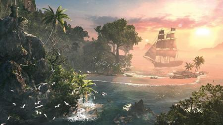 Assassin's Creed 4 Black Flag Screenshot European release date schedule November 2013