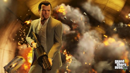 Cool guys don't look at explosions.