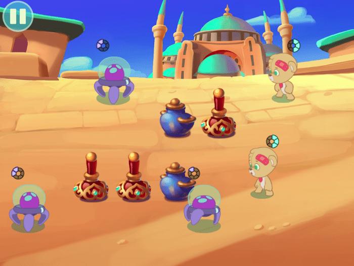 PAWS gameplay screenshot