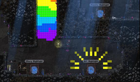 Below Kryll gameplay screenshot