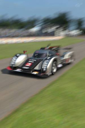The Audi R18 Le Mans Prototype is a beast.