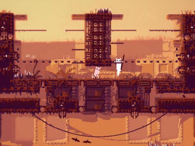 Screenshot from Project Rain World