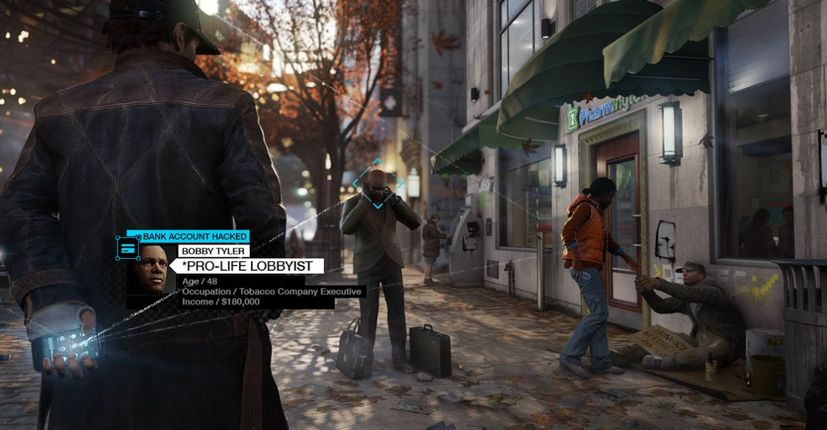Watch Dogs Pro Life Hack Screenshot