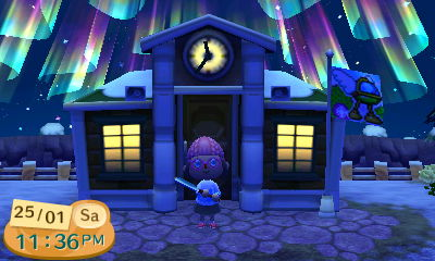 Animal Crossing Town Hall Plaleaf