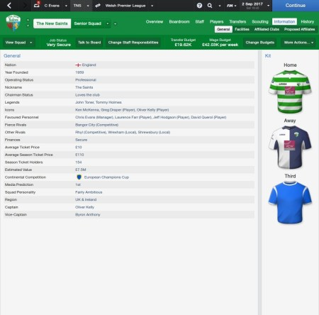 Football Manager 2014 - TNS Information