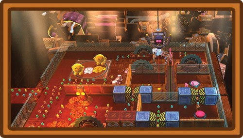 Sweet Escape Gameplay Screenshot
