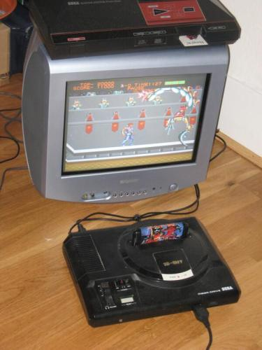 Japanese Strider Cart in European Mega Drive