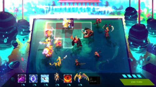 Duelyst Kickstarter Crowdfunding Screenshot PC