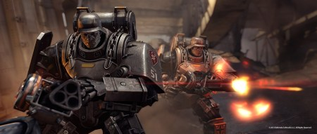 Mechs! Guns! It's Wolfenstein.