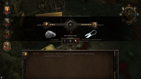 Playing Rock, Paper, Shotgun with an Orc! Who thought they had such intelligence.