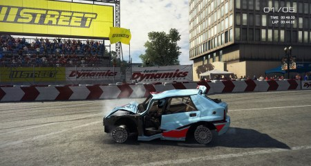 The damage effects are...decent (?) in GRID: Autosport.