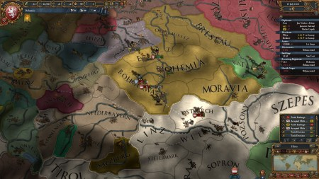 Two massive armies were soon invading.