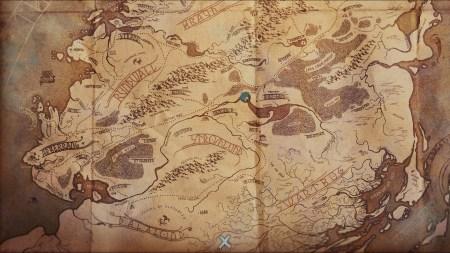 Banner Saga 2 Map