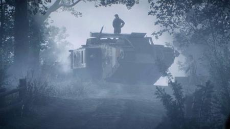 The opening story sees you take charge of Black Bess, a monster of a tank.