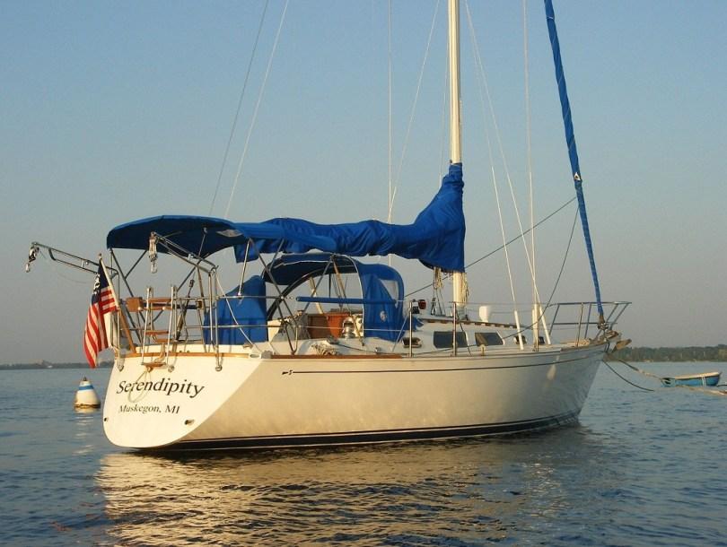 Serendipity sailboat