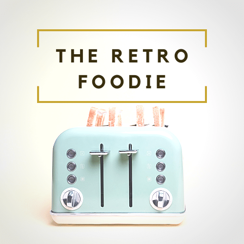 The Retro Foodie Logo
