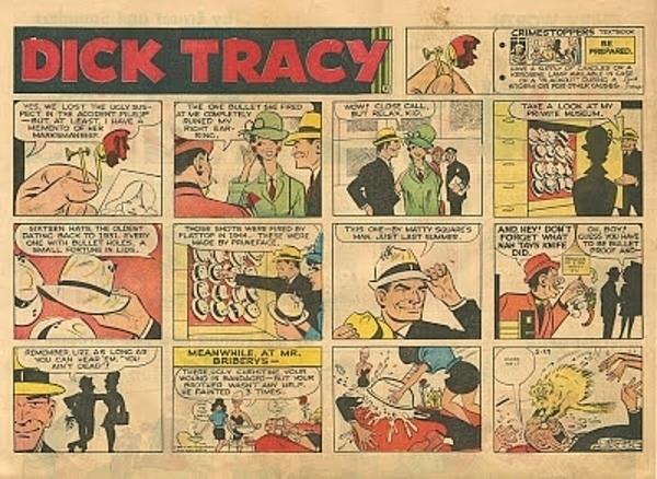 Dick Tracy Comic Strip