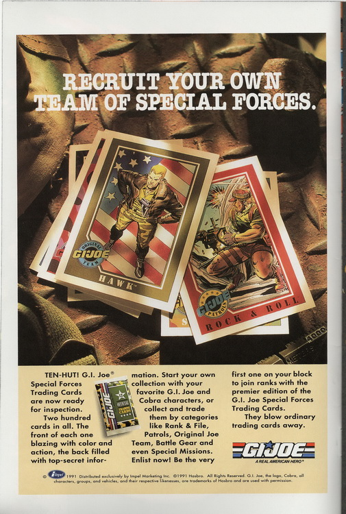 Ghost Rider 15.1 G I Joe Trading Cards