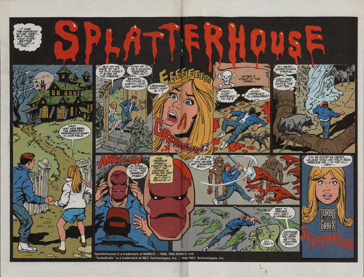Spider-Man 4 Splatterhouse