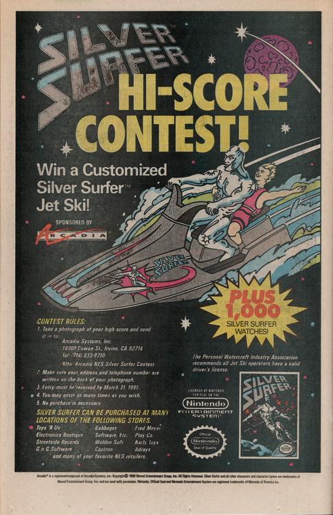 Darkhawk SIlver Surfer Contest