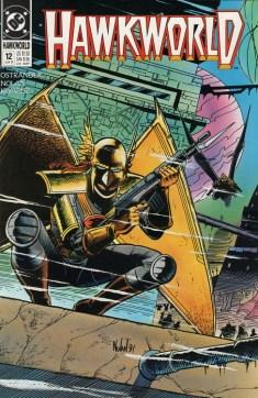 Hawkworld #12 Cover