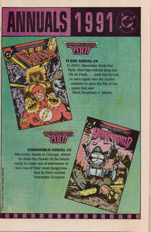 The Web 1 DC Annuals
