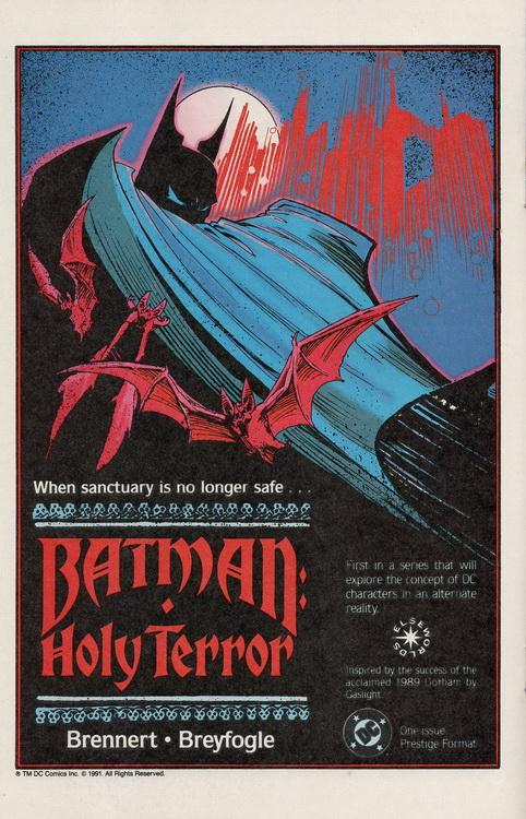 Outlaws 2 Batman Holy Terror
