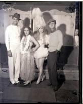 Cary Grant, Mary Pickford with Countess de Frassot and Rullio Carminati