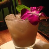 Longitude's Mai Tai - When in doubt - there's no truer test