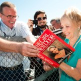 Jane Powell signing an autograph oat the TCM Classic Film Festival, 2011